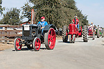 Annual fall Gas-Up at McFarland Ranch near Galt, Calif. of Branch 13, Early-Day Gas Engine and Tractor Association. (EDGE & TA)..1936 International W-12 McCormick-Deering and Farmall tractors