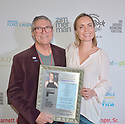 FORT LAUDERDALE, FLORIDA - NOVEMBER 09: Gregory von Hausch and Radha Mitchell arrive at the 34th Annual Fort Lauderdale International Film Festival - Radha Mitchell & Justin Long Honored With Career Achievement Awards at Savor Cinema on November 09, 2019 in Fort Lauderdale, Florida. ( Photo by Johnny Louis / jlnphotography.com )
