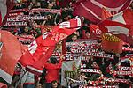 12.01.2018, BayArena, Leverkusen , GER, 1.FBL., Bayer 04 Leverkusen vs. FC Bayern M&uuml;nchen<br /> im Bild / picture shows: <br /> Fans, freundlich, Stimmung, farbenfroh, Nationalfarbe, geschminkt, Emotionen, bayern<br /> <br /> <br /> Foto &copy; nordphoto / Meuter