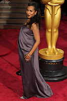 HOLLYWOOD, LOS ANGELES, CA, USA - MARCH 02: Kerry Washington at the 86th Annual Academy Awards held at Dolby Theatre on March 2, 2014 in Hollywood, Los Angeles, California, United States. (Photo by Xavier Collin/Celebrity Monitor)