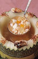 Asie/Singapour/Singapour: Recette de soupe au melon d'hiver et à la viande