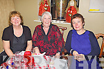 Liz Dunne, Lesley Mulvihill and Anette O'Sullivan from Mrs Quinns pictured here last Saturday night where traders and business's from Church Street, Listowel  came together for a special Christmas party in Allos Restaurant, Listowel.