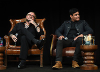 """HOLLYWOOD - MAY 29: Co-Creator/Executive Producer/Writer Kurt Sutter and Co-Creator/Executive Producer/Writer/Director Elgin James attends the FYC event for FX's """"Mayans M.C."""" at Neuehouse Hollywood on May 29, 2019 in Hollywood, California. (Photo by Frank Micelotta/FX/PictureGroup)"""