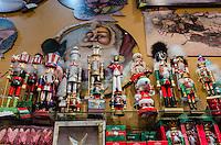 America,New York,  Manhattan,Christmassoldier wood