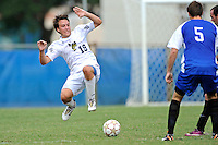 2 October 2011:  FIU midfielder Arnthor Kristinsson (19) dives to intercept the ball in the second half as the FIU Golden Panthers defeated the University of Kentucky Wildcats, 1-0 in overtime, at University Park Stadium in Miami, Florida.
