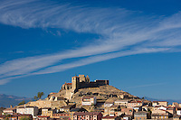 Hill town and citadel of San Vicente de la Sonsierra in La Rioja, Northern Spain