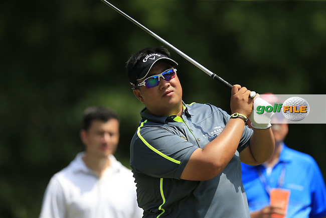 Kiradech Aphibarnrat (THI) during practice for the Players, TPC Sawgrass, Championship Way, Ponte Vedra Beach, FL 32082, USA. 11/05/2016.<br /> Picture: Golffile | Fran Caffrey<br /> <br /> <br /> All photo usage must carry mandatory copyright credit (&copy; Golffile | Fran Caffrey)