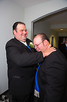 7/28/12 1:20:42 PM - Warminster, PA. -- Andrea & Dan - July 28, 2012 in Warminster, Pennsylvania. -- (Photo by Joe Koren/Cain Images)