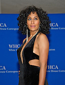 Tracee Ellis Ross arrives for the 2016 White House Correspondents Association Annual Dinner at the Washington Hilton Hotel on Saturday, April 30, 2016.<br /> Credit: Ron Sachs / CNP<br /> (RESTRICTION: NO New York or New Jersey Newspapers or newspapers within a 75 mile radius of New York City)