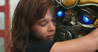 Hailee Steinfeld as Charlie and Bumblebee <br /> Bumblebee (2018) <br /> *Filmstill - Editorial Use Only*<br /> CAP/RFS<br /> Image supplied by Capital Pictures
