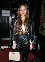 Courtney Green at the Abbott Lyon x Chloe Lewis Christmas Campaign launch, Vanilla London, Great Titchfield Street, London, England, UK, on Wednesday 07 November 2018.<br /> CAP/CAN<br /> &copy;CAN/Capital Pictures
