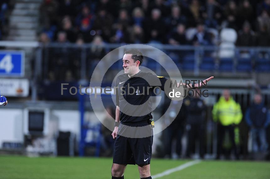 VOETBAL: HEERENVEEN: 06-02-16, Abe Lenstra Stadion, SC Heerenveen - FC Twente, uitslag 1-3, scheidsrechter Dennis Higler, ©foto Martin de Jong