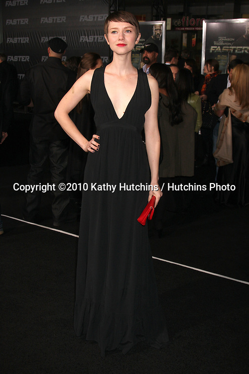 """LOS ANGELES - NOV 22:  Valorie Curry arrives at the """"Faster"""" LA Premiere at Grauman's Chinese Theater on November 22, 2010 in Los Angeles, CA"""