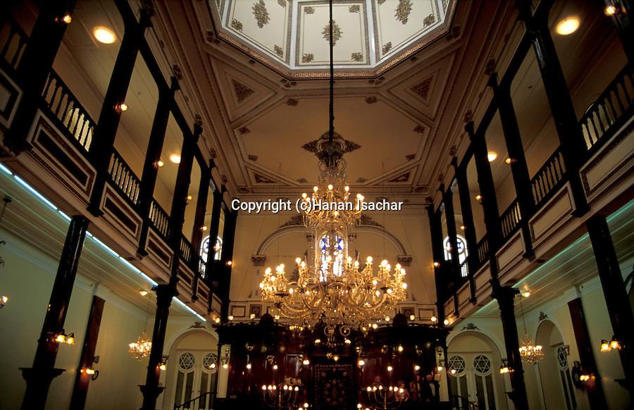 Tuekey, Izmir. Beth Israel Synagogue