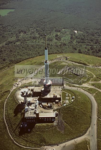 Europe/France/Auvergne/63/Puy-de-Dôme/Parc Naturel Régional des Volcans/Puy-de-Dôme (1465mètres): Le bâtiment de l'ORTF