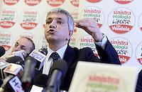 Nichi Vendola, Conferenza Stampa