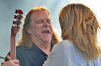 Grace Potter and the Nocternals with Warren Haynes guesting at The Gathering of the Vibes 27 July 2013.