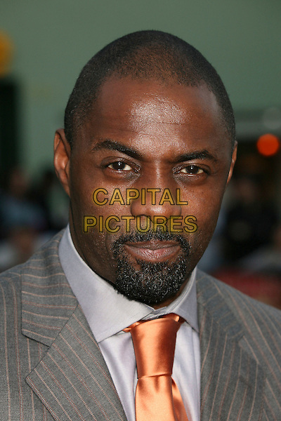 "IDRIS ELBA.""The Reaping"" Los Angeles Premiere at Mann's Village Theatre, Hollywood, California, USA, 29 March 2007..portrait headshot.CAP/ADM/BP.©Byron Purvis/AdMedia/Capital Pictures."