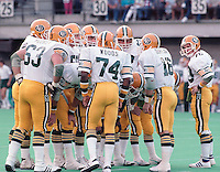 Edmonton Eskimos 1985. Photo copyright Scott Grant.