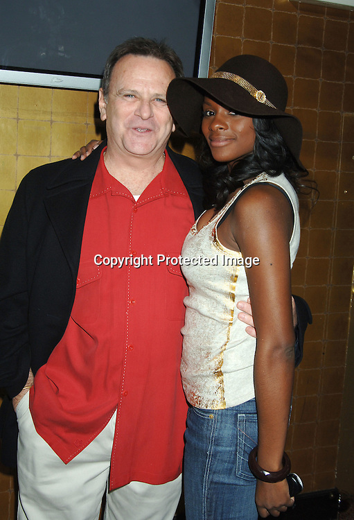 Bob Woods and Tika Sumpter ..at the One Life To Live Christmas Party at LQ on     December 12, 2005. ..Photo by Robin Platzer, Twin Images