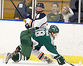 Ian Canty (Salem State - 7), Travis Stevens (Plymouth State - 18) - The visiting Plymouth State University Panthers defeated the Salem State University Vikings 3-2 on Thursday, December 1, 2011, at Rockett Arena in Salem, Massachusetts.