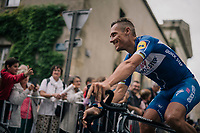Philippe Gilbert (BEL/Quick Step floors) at the Team presentation in La Roche-sur-Yon<br /> <br /> Le Grand D&eacute;part 2018<br /> 105th Tour de France 2018<br /> &copy;kramon