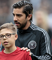 LOS ANGELES, CA - MARCH 01: Rodolfo Pizarro #10 of Inter Miami CF during a game between Inter Miami CF and Los Angeles FC at Banc of California Stadium on March 01, 2020 in Los Angeles, California.