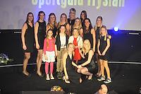 SPORT ALGEMEEN: HEERENVEEN: Trinitas, 18-02-2015, Sportgala Fryslân, dames VC Sneek, ©foto Martin de Jong