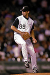 8 September 2006: Tom Martin, pitcher for the Colorado Rockies, on the mound against the Washington Nationals. The Rockies defeated the Nationals 11-8 at Coors Field in Denver, Colorado...Mandatory Photo Credit: Ed Wolfstein.