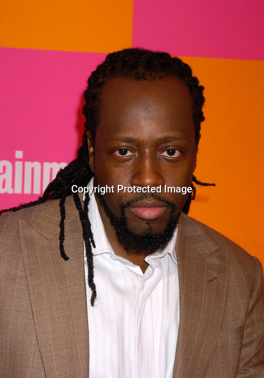 "Wyclef Jean ..at The Entertainment Weekly's ""The Must List"" party at ..Crobar in New York City on June 17, 2004. ..Photo by Robin Platzer, Twin Images"