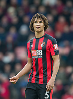 Nathan Ake of AFC Bournemouth during the Premier League match between Bournemouth and Arsenal at the Goldsands Stadium, Bournemouth, England on 14 January 2018. Photo by Andy Rowland.