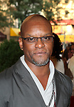 Kevin Mambo.attending the opening night of the Broadway limited engagement of 'Fela!' at the Al Hirschfeld Theatre on July 12, 2012 in New York City.