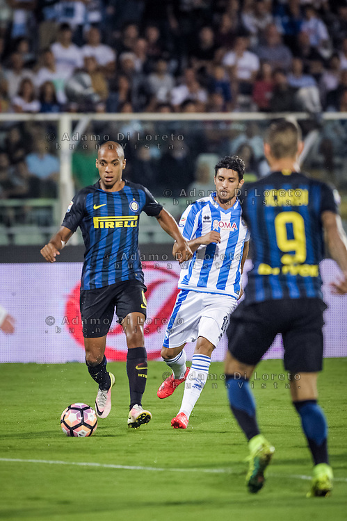 Joao Mario (Inter) during the Italian Serie A football match Pescara vs SSC Inter on September 11, 2016, in Pescara, Italy. Photo by Adamo DI LORETO
