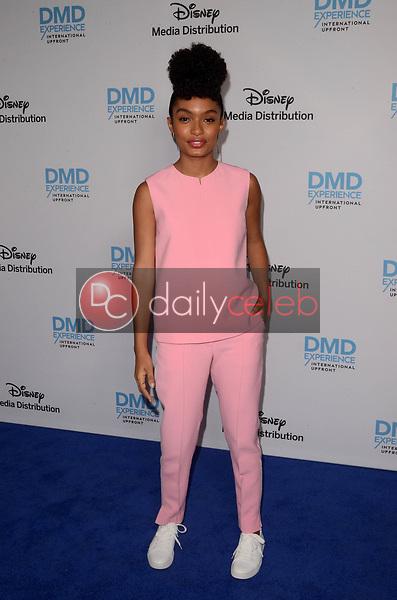 Yara Shahidi<br /> at the Disney ABC International Upfront, Walt Disney Studios, Burbank, CA 05-20-18<br /> David Edwards/DailyCeleb.com 818-249-4998