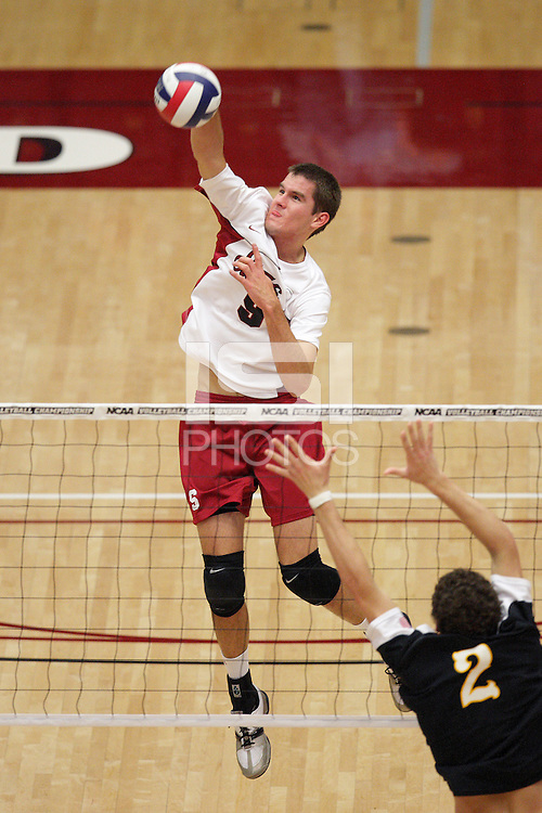 STANFORD, CA - JANUARY 30:  Brad Lawson of the Stanford Cardinal during Stanford's 3-2 win over the Long Beach State 49ers on January 30, 2009 at Maples Pavilion in Stanford, California.