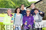 Liz Griffin, Virgina Cancio, Santiago Cancio, Kathleen and Pat O'Brien and Rose Palmer at the James Cahill walk in aid of Kerry Mountain rescue in Muckross on Saturday