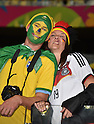 Fans,<br /> JULY 8, 2014 - Football / Soccer :<br /> FIFA World Cup Brazil 2014 Semi-finals match between Brazil 1-7 Germany at Estadio Mineirao in Belo Horizonte, Brazil. (Photo by SONG Seak-In/AFLO)