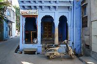 in the streets of Jodhpur,  Rajastan, India