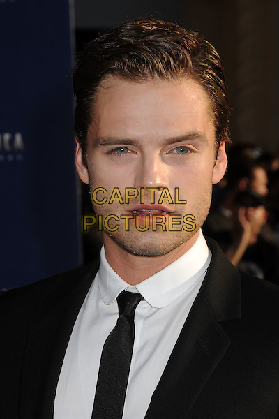"Sebastian Stan.""Captain America: The First Avenger"" Los Angeles Premiere held at the El Capitan Theatre, Hollywood, California, USA..July 19th, 2011.headshot portrait white tie black stubble facial hair.CAP/ADM/BP.©Byron Purvis/AdMedia/Capital Pictures."