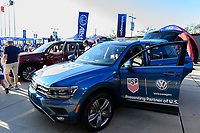 PHILADELPHIA, PA - AUGUST 29: VW, Volkswagen during a game between onsorship v at Lincoln Financial Field on August 29, 2019 in Philadelphia, Pennsylvania.