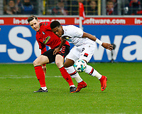 Christian GUENTER (GUENTER), SCF - Leon BAILEY, Bayer Leverkusen,   Fussball, 1. Bundesliga  2017/2018<br /> <br />  <br /> Football: Germany, 1. Bundesliga, SC Freiburg vs Bayer 04 Leverkusen, Freiburg, 03.02.2018 *** Local Caption *** © pixathlon<br /> Contact: +49-40-22 63 02 60 , info@pixathlon.de