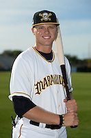Bradenton Marauders outfielder Austin Meadows (13) poses for a photo before a game against the St. Lucie Mets on April 11, 2015 at McKechnie Field in Bradenton, Florida.  St. Lucie defeated Bradenton 3-2.  (Mike Janes/Four Seam Images)