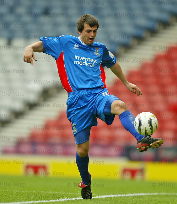 Russell Duncan, Inverness Caledonian Thistle.stock season 2003-2004.pic willie vass