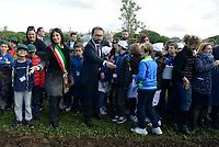 Alfonso Bonafede e Virginia Raggi inaugurano il Parco della Giustizia