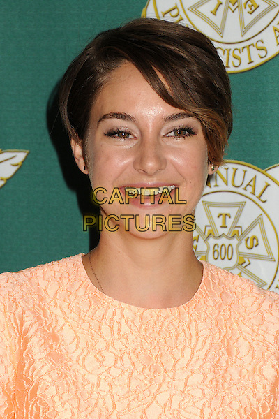 28 February 2014 - Beverly Hills, California - Shailene Woodley. 51st Annual Publicists Awards Luncheon held at the Beverly Wilshire Hotel. <br /> CAP/ADM/BP<br /> &copy;Byron Purvis/AdMedia/Capital Pictures