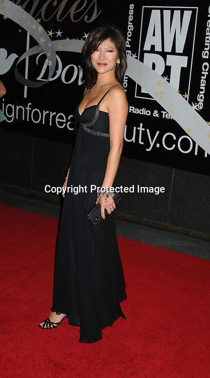 Julie Chen..arriving at The 31st Annual American Women in Radio & Television's Gracie Allen Awards on June 19, 2006 at..The Marriott Marquis Hotel. ..Robin Platzer, Twin Images