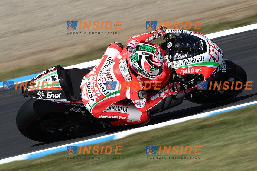 .12-10-2012 Motegi (JAP).Motogp - motogp Giappone 2012.in the picture: Nicky Hayden - Ducati team .Foto Semedia/Insidefoto.ITALY ONLY
