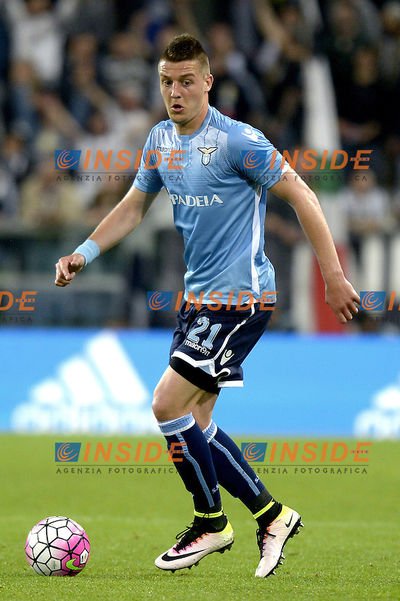 Sergej Milinkovic Lazio,<br /> Torino 20-04-2016, Juventus Stadium, Football Calcio 2015/2016 Serie A, Juventus - Lazio, Foto Filippo Alfero/Insidefoto