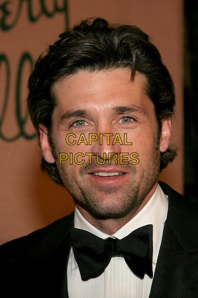 PATRICK DEMPSEY.2005 Diversity Awards presented by the Multicultural Motion Picture Association held at the Beverly Hills Hotel, Beverly Hills, California.  .November 13th, 2005.Photo: Zach Lipp/AdMedia/Capital Pictures.Ref: ZL/ADM.headshot portrait stubble facial hair bow tie.www.capitalpictures.com.sales@capitalpictures.com.© Capital Pictures.