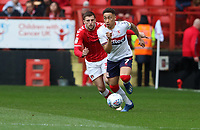 Marcus Tavernier of Middlesbrough during Charlton Athletic vs Middlesbrough, Sky Bet EFL Championship Football at The Valley on 7th March 2020